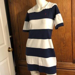 Nautica t-shirt dress size S